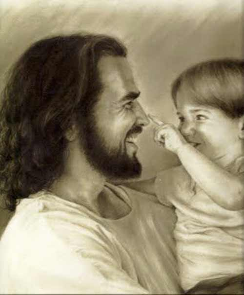 child and Jesus