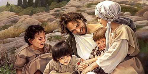 Jesus and children
