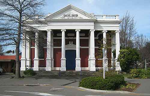 Baptist Church before quakes