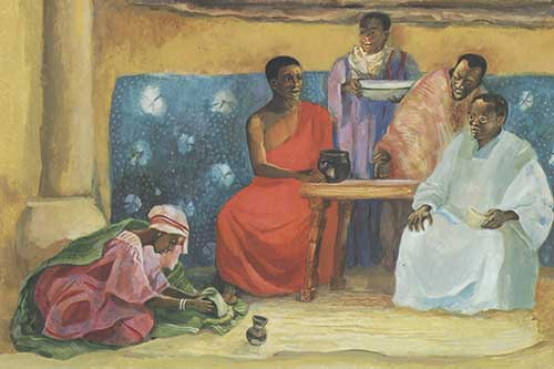 Jesus Mafa Forgiveness