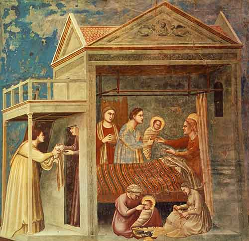 The Birth of the Blessed Virgin Mary