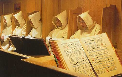 Carthusians in Choir