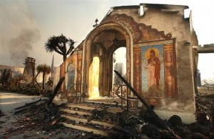 Mount Calvary Retreat House and Monastery destroyed in fire
