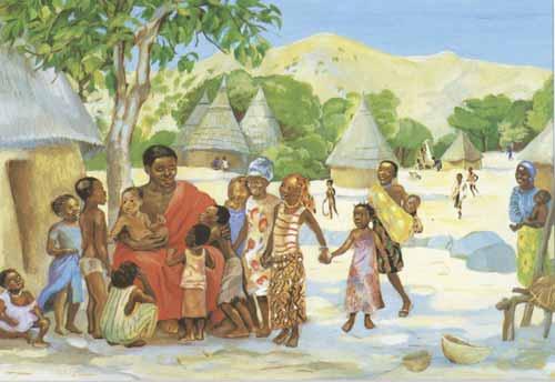 Jesus Mafa Children