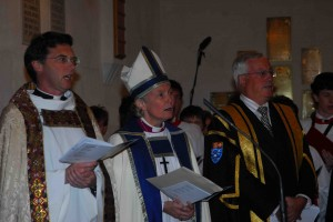 Bishop Victoria Matthews installed as Warden