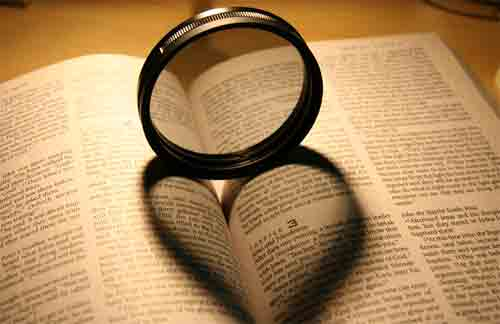Heart lens of the Bible