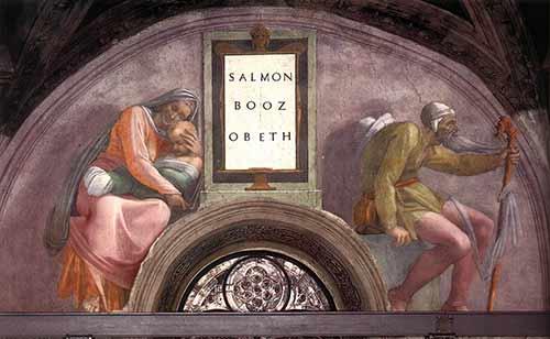 Salmon Boaz Obed