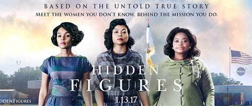 Hidden Figures on Valentine's Day