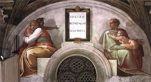 Josiah - Jechoniah - Shealtiel