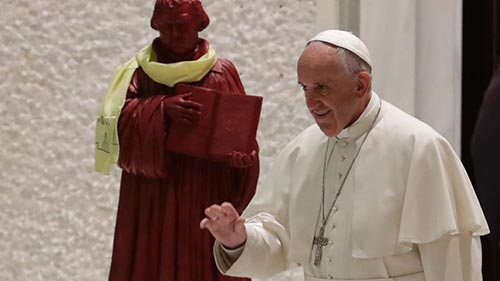 Pope Francis Martin Luther