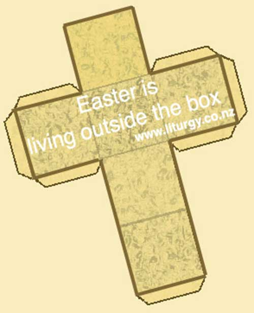 Easter is living outside the box