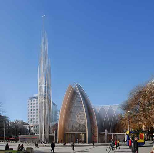 Christchurch Planned Cathedral