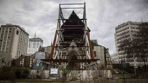 Post-Quakes ChristChurch Cathedral