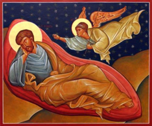St Joseph Dreaming