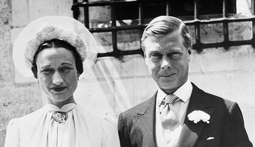 Wallis Simpson & Prince Edward