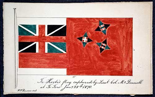 Te Kooti Flag