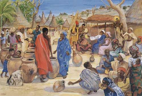 Jesus Wedding Cana Mafa