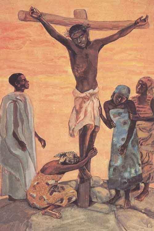 Jesus Mafa Crucifixion