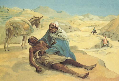 Good Samaritan Jesus Mafa