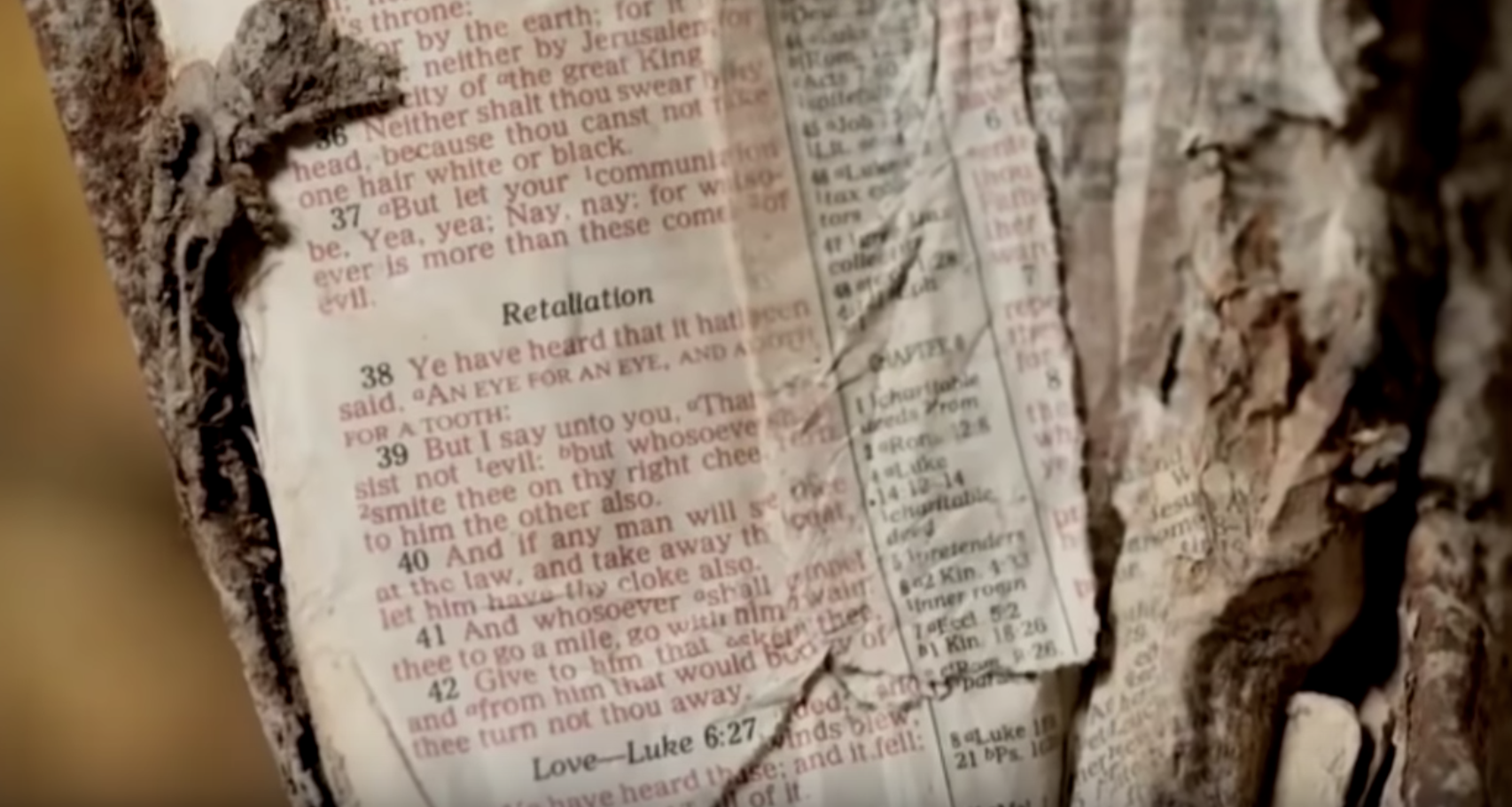 Bible at 9/11 Ground Zero