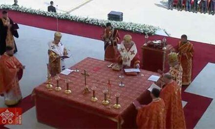 Pope Francis Byzantine Rite